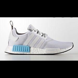 Nmd white/blue